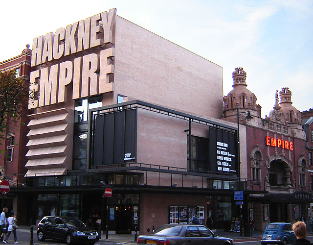 Hackney empire building london