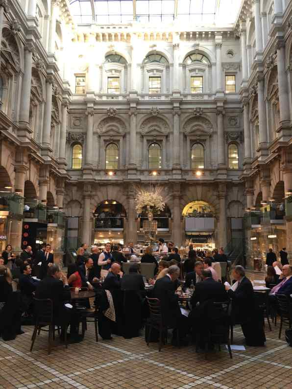 The Royal Exchange, Inside, City of London