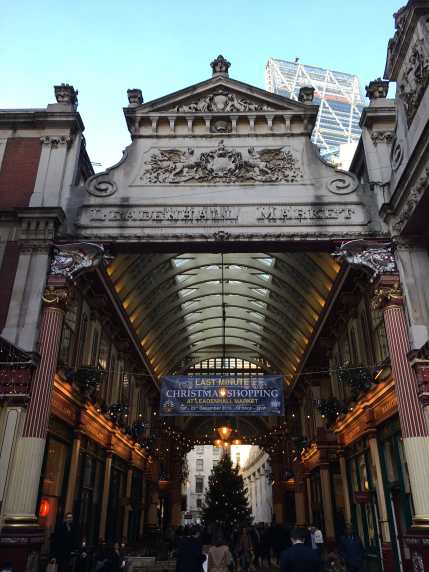 Leadenhall Market, architecture, City of London