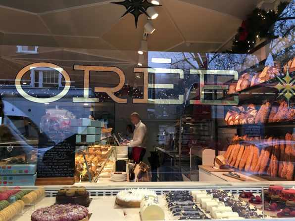 french bakery, bread, pastries, london