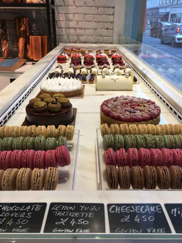 pastries, buche, macarons, french bakery