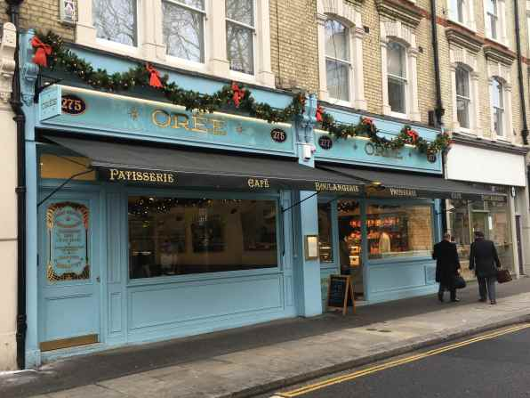french bakery, pastries, bread, london