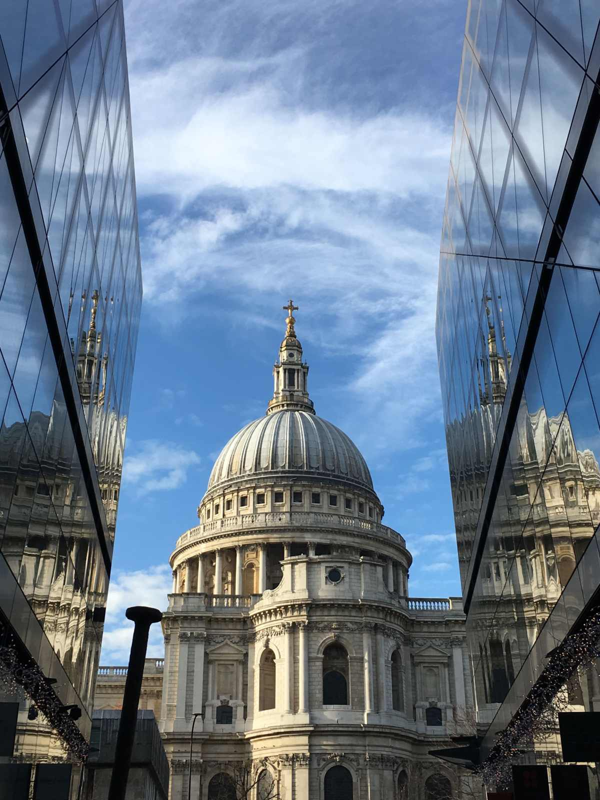 St Paul's cathedral, one new change, city of London, architecture, photography
