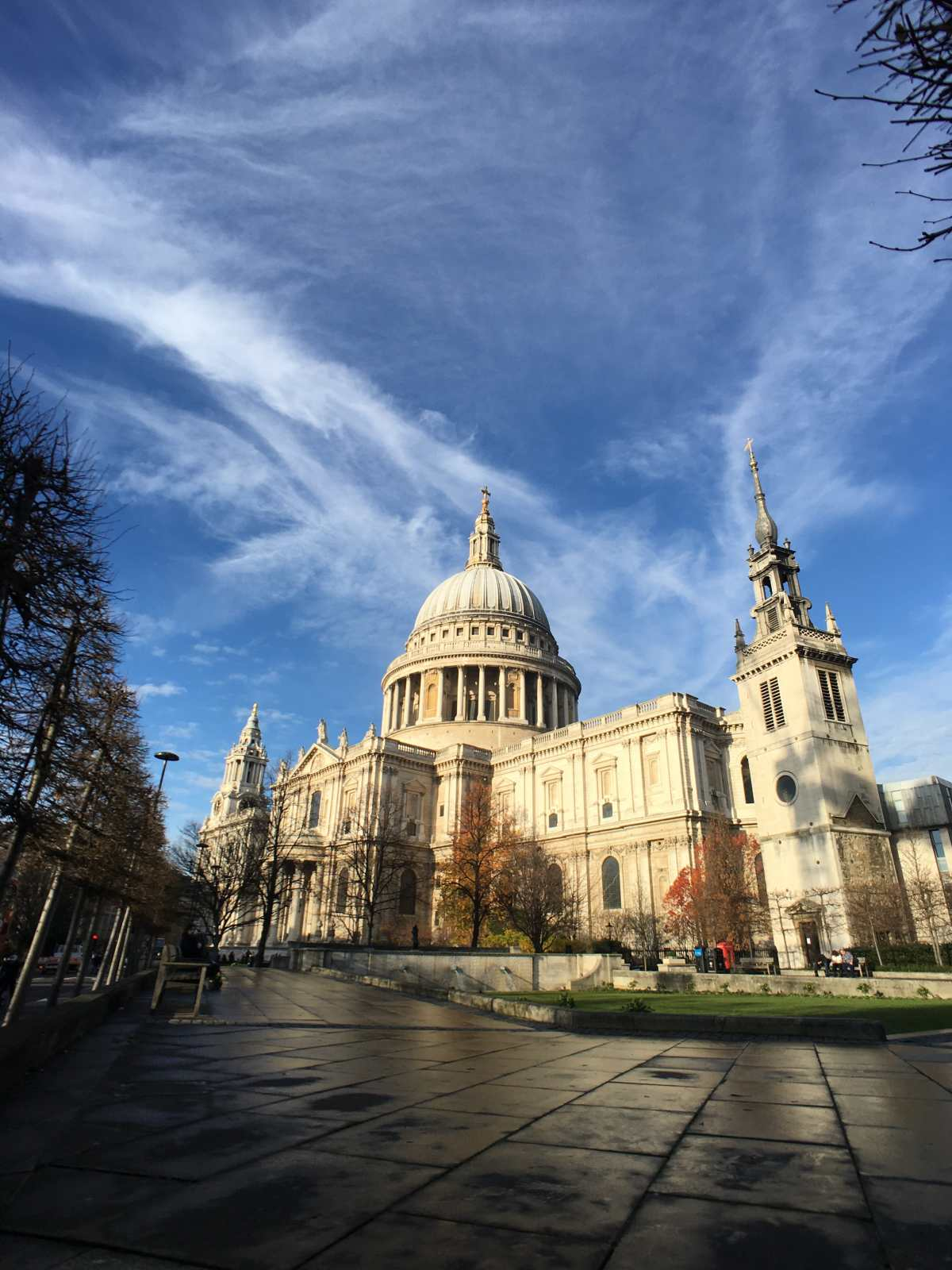 St Paul's cathedral, City of London, photo grand angle