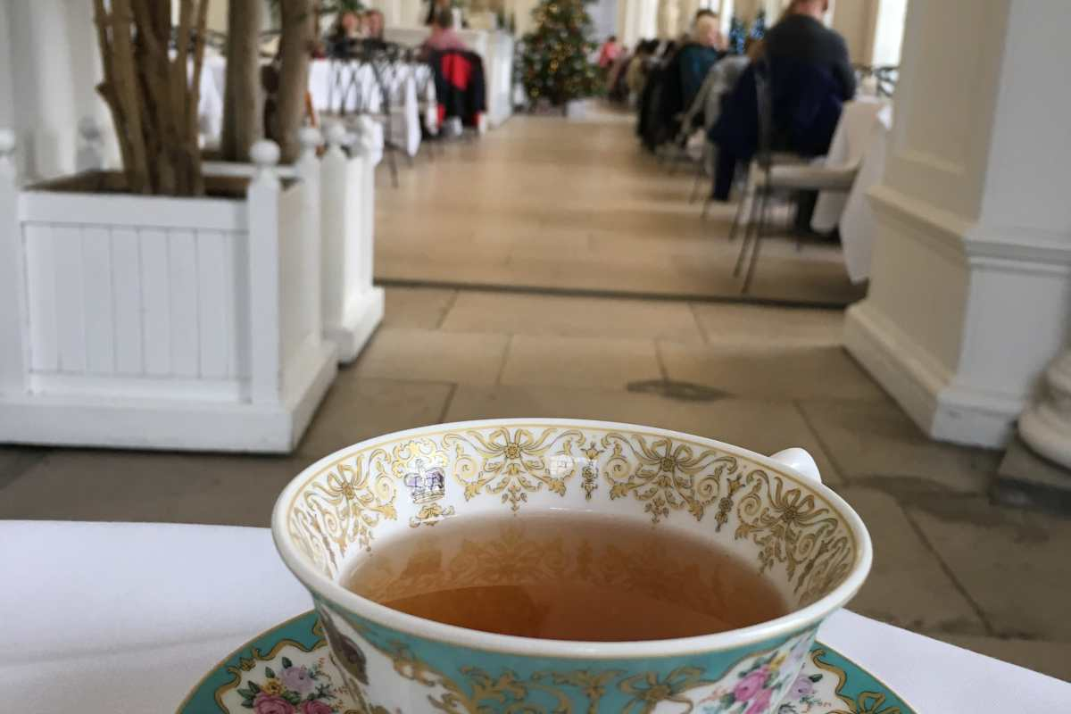 Tea, Earl grey, the orangery, Kensington gardens, London