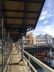 Dock Kitchen, Restaurant, trendy, portobello dock, london, tom dixon, design, interior