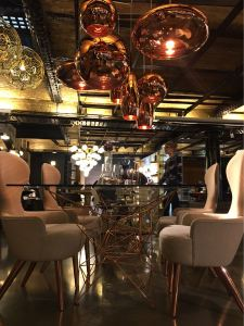 Tom Dixon shop, designer, London, lights, portobello dock