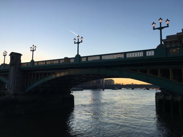 River Thames, bridge, London