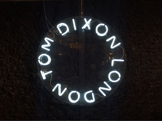 Tom Dixon shop, designer, London, lights, portobello dock
