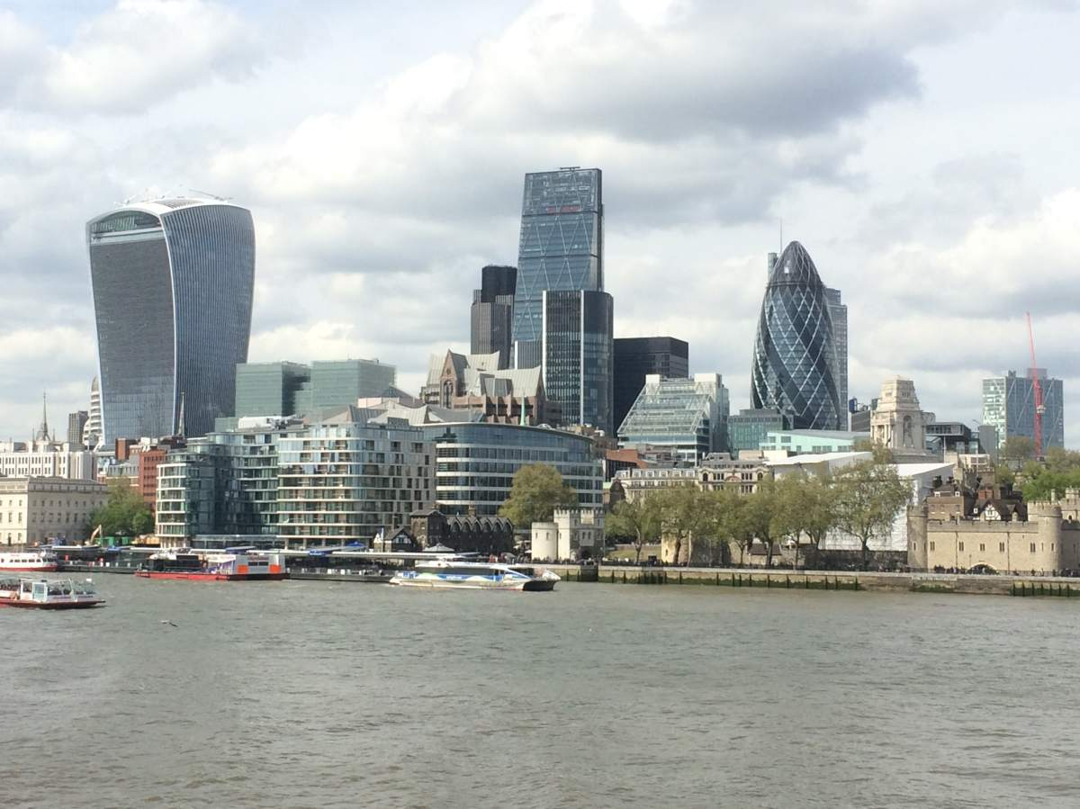 City of London, Gherkin, Heron Tower, Walkie Talkie, Tower of London, Architecture, London