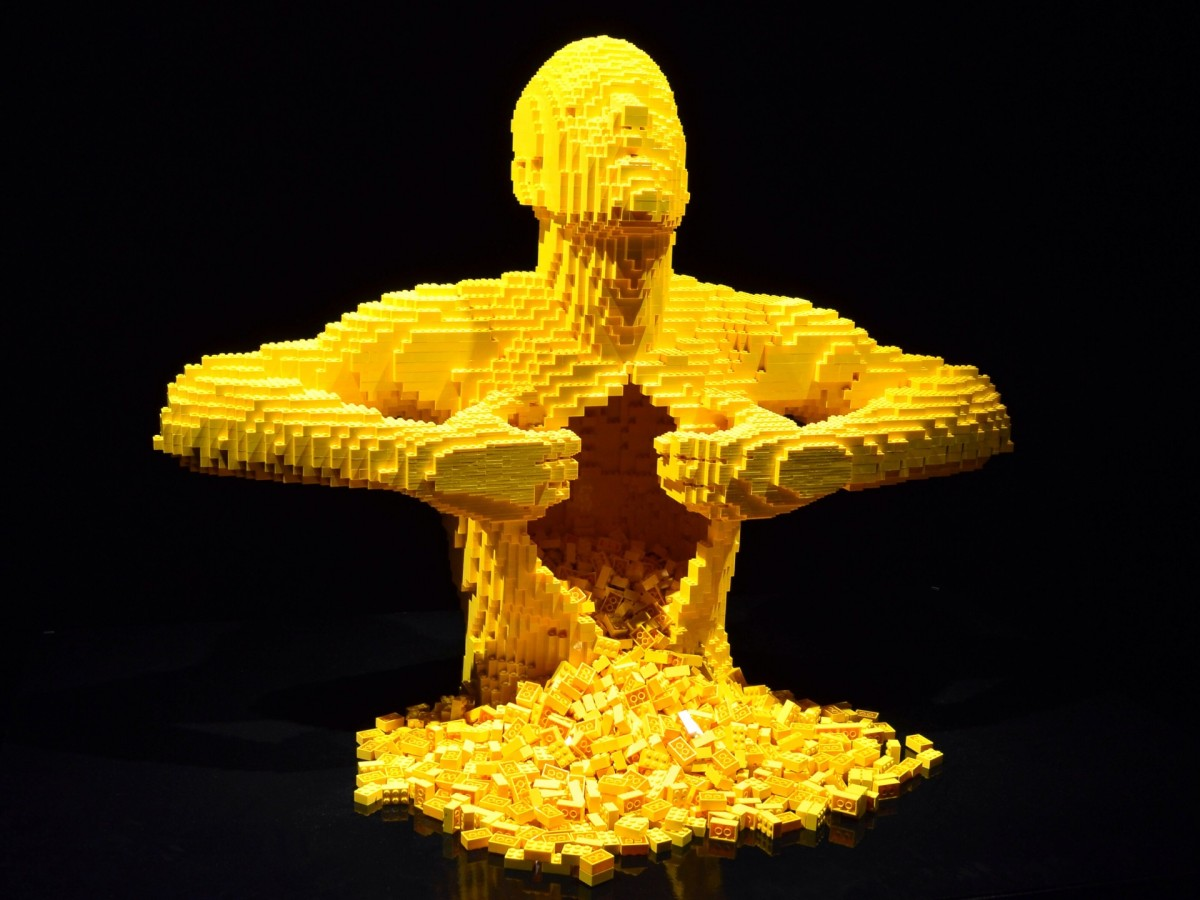 The art of the brick exhibition, LEGO, London