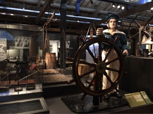 Docklands Museum, London, Canary Wharf