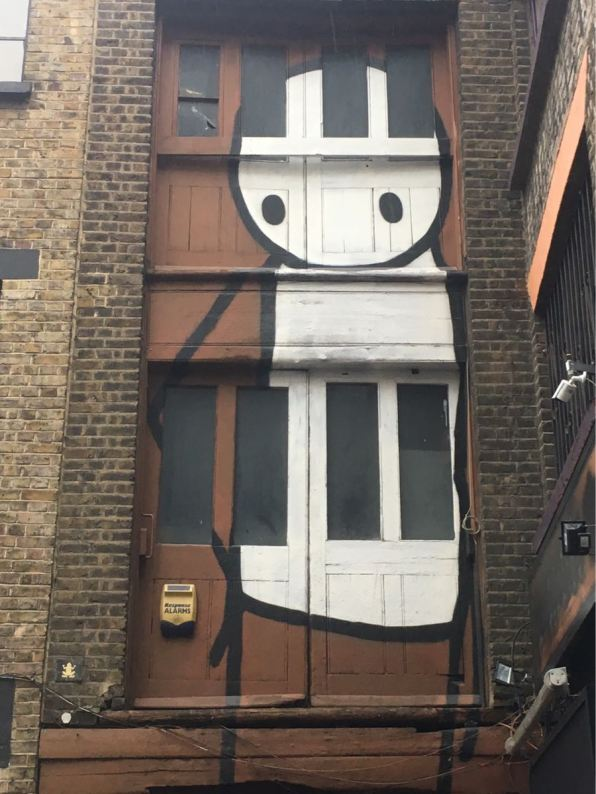 Stick, artist, Street art, Rivington Street, London