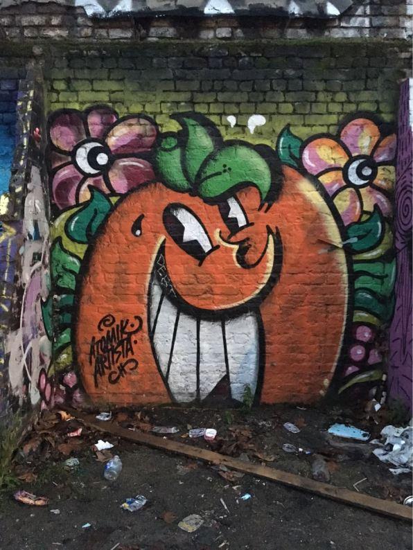 Star Yard, street art, Brick Lane, London