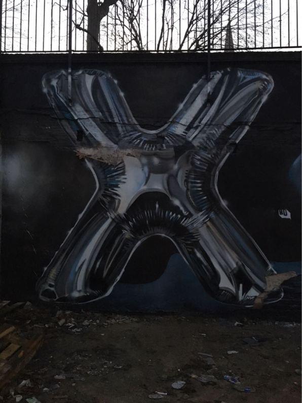 Fanakapan, artist, street art, Star Yard, Brick Lane, London