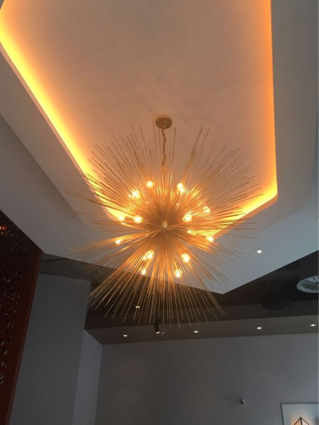 Aster Victoria, Restaurant, London, Russel Sage Studio, Ceilings, Lights