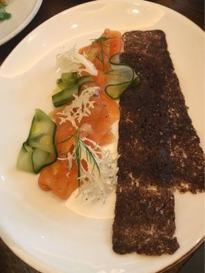 Aster Victoria, Café, London, Smoked Salmon