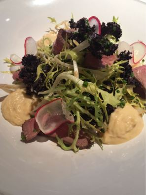 Aster Victoria, Café, London, smoked duck salad
