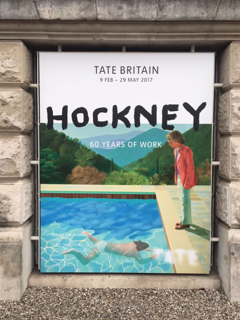 David Hockney, Tate Britain Exhibition