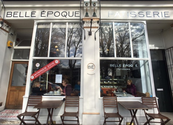Stoke Newington, bakery Belle Epoque, London