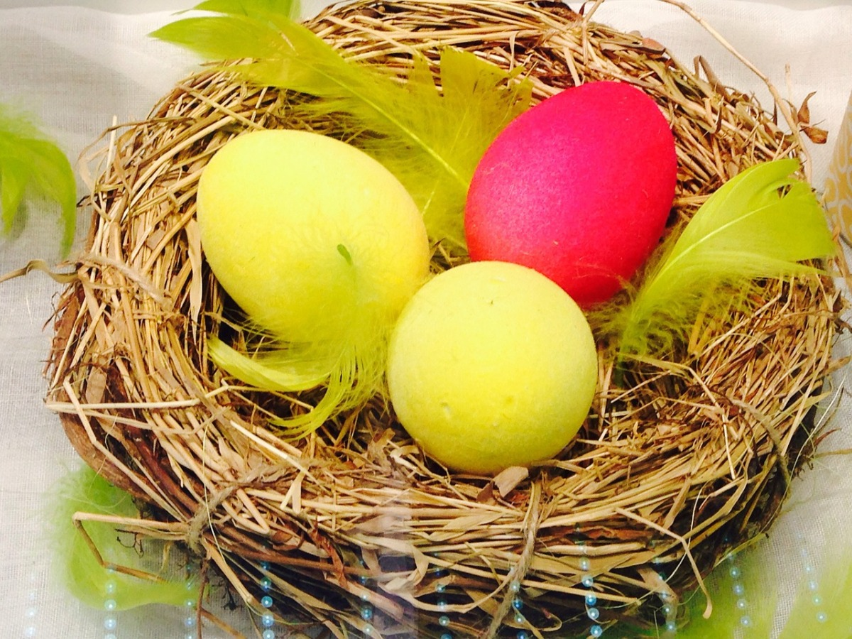 Oeufs de Pâques, April, Easter