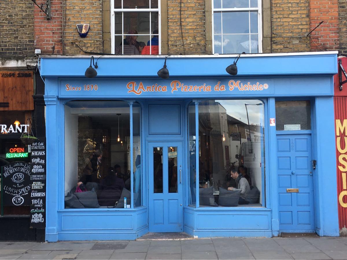L'antica Pizzeria Da Michele, Stoke Newington, London