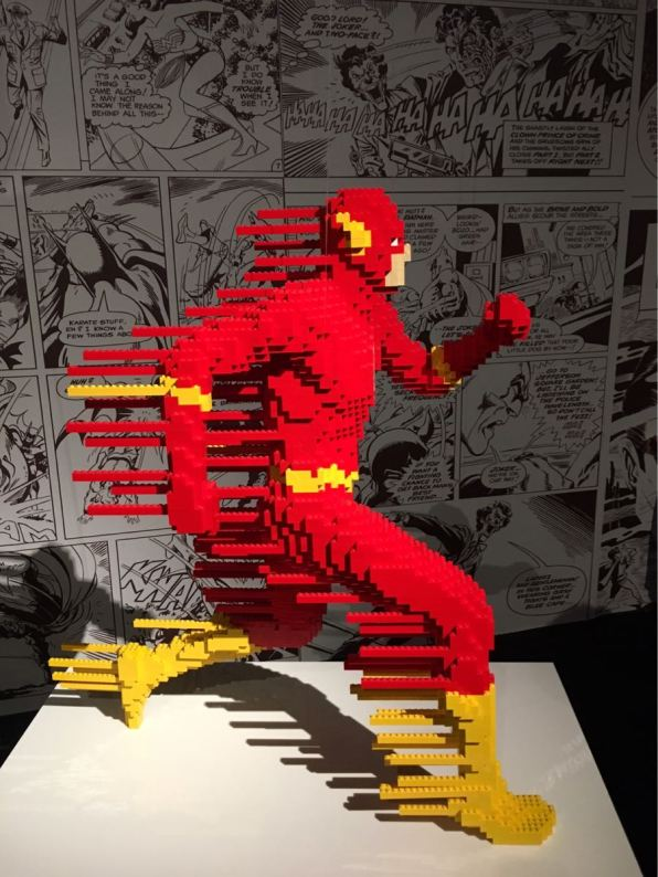 The art of the Brick : DC Super Heros, Exhibition, London