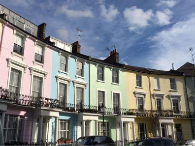 Primrose Hill, Chalcot Crescent, London