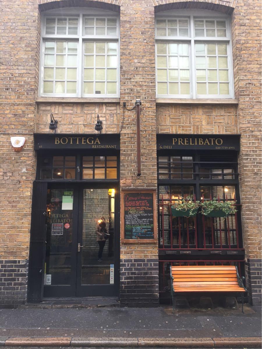 Bottega Prelibato, Shoreditch, London