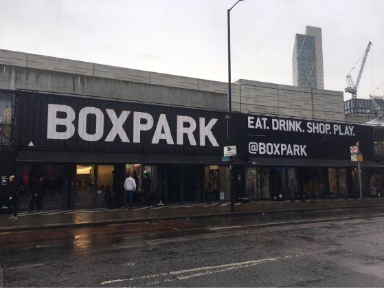 Box Park, Shoreditch, London