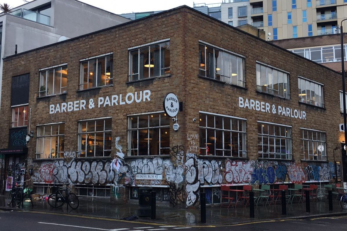 Barber and Parlour, Shoreditch, London