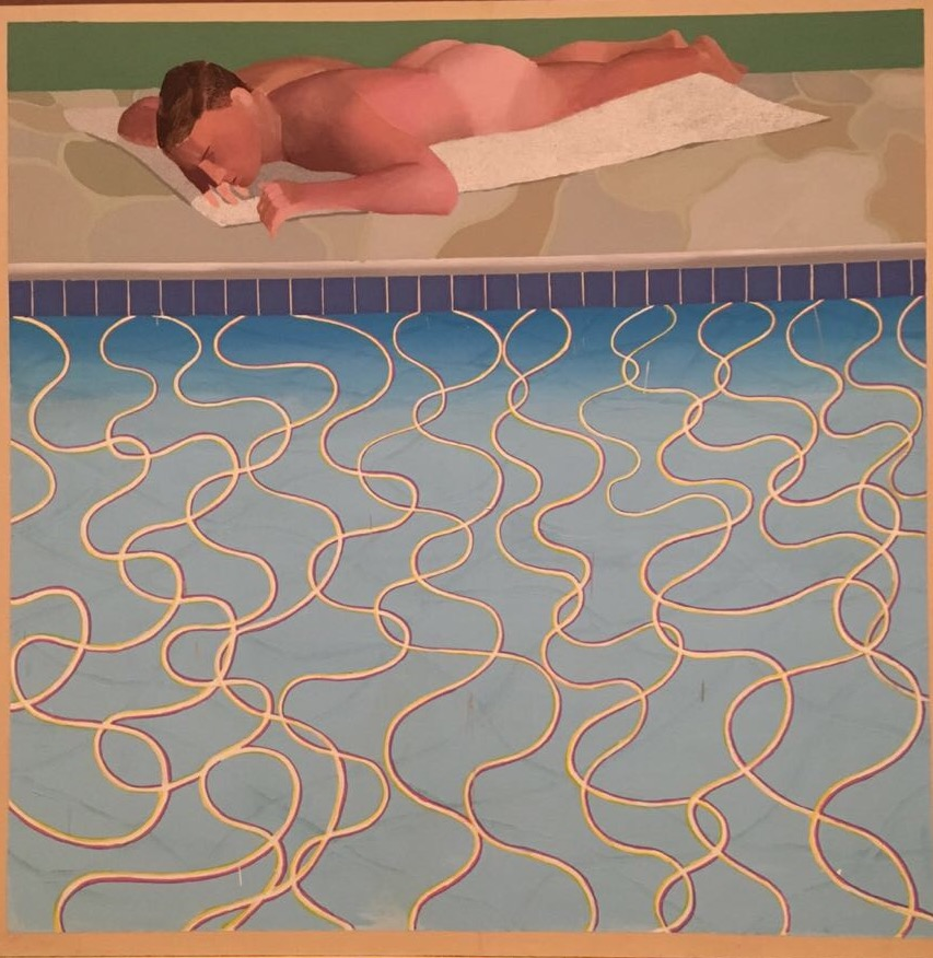 Sunbather, David Hockney, Tate Britain, Exhibition, London