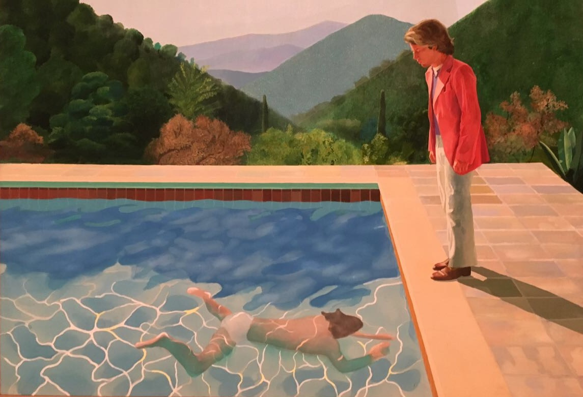 David Hockney, Tate Britain, exhibition, London, Sunbath