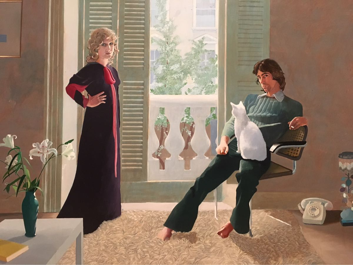 Mr and Mrs Clark and Percy, 1970-71, David Hockney, Tate Britain, Exhibition, London