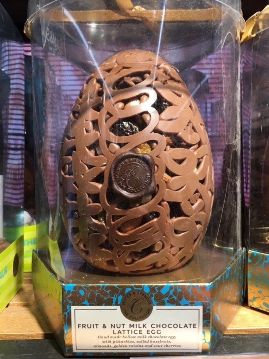 Marks & Spencer chocolate Egg, London