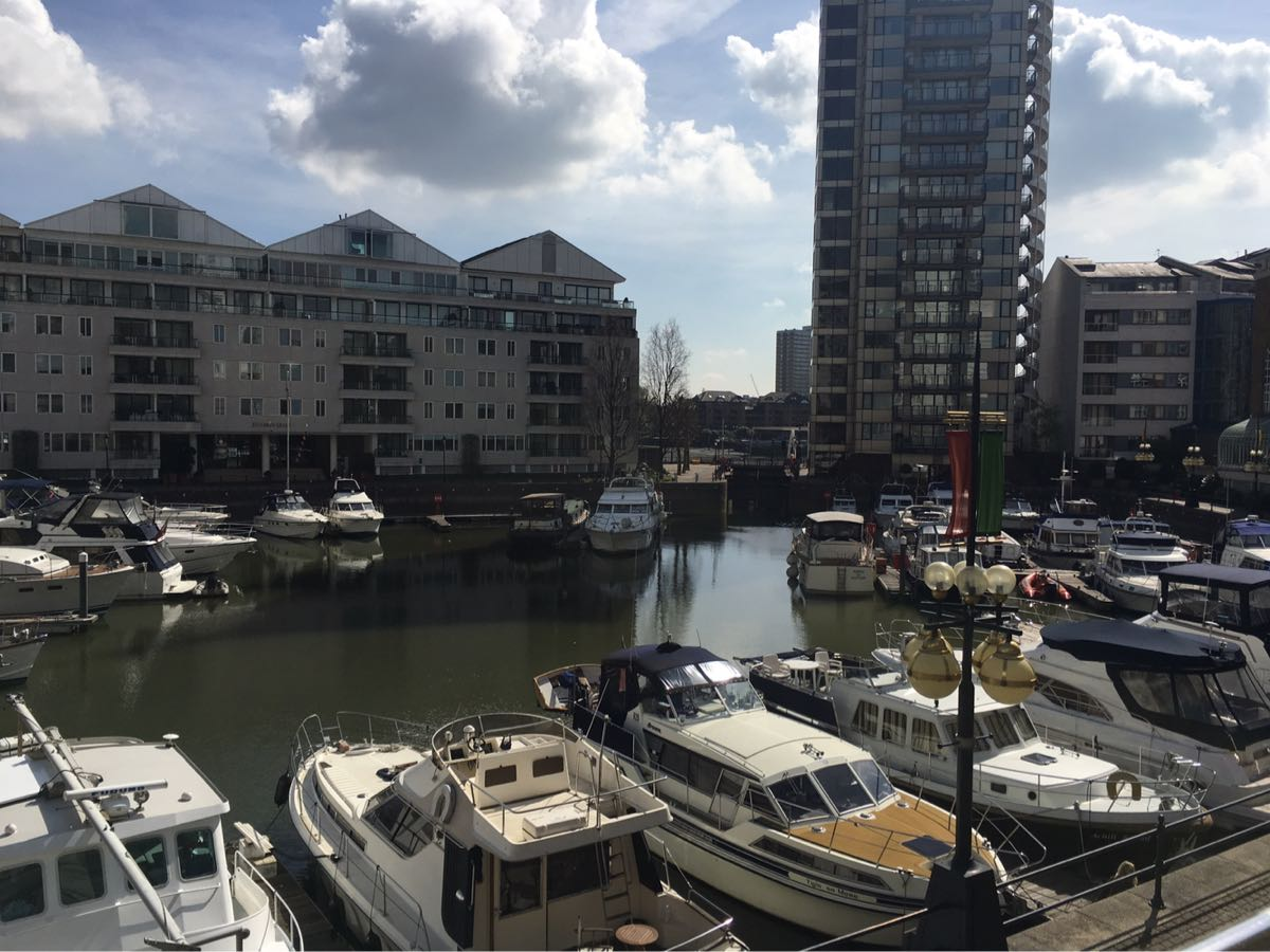 Chelsea Harbour Hotel, View from the terrace, London