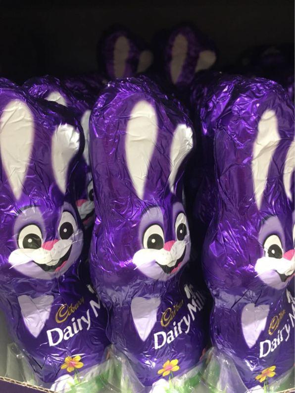 Cadbury Bunny, Spotted in Waitrose, London