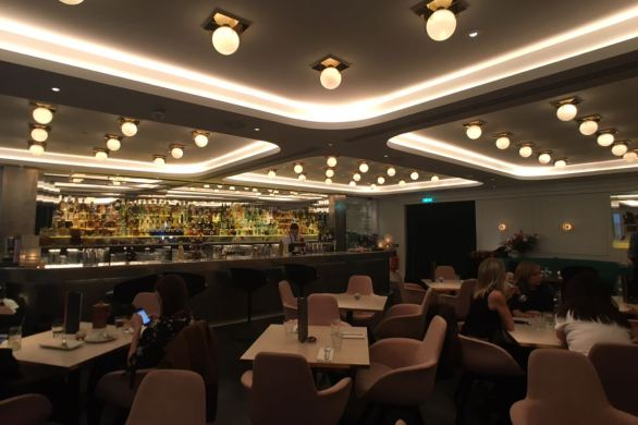 Bronte restaurant, Trafalgar Square, London