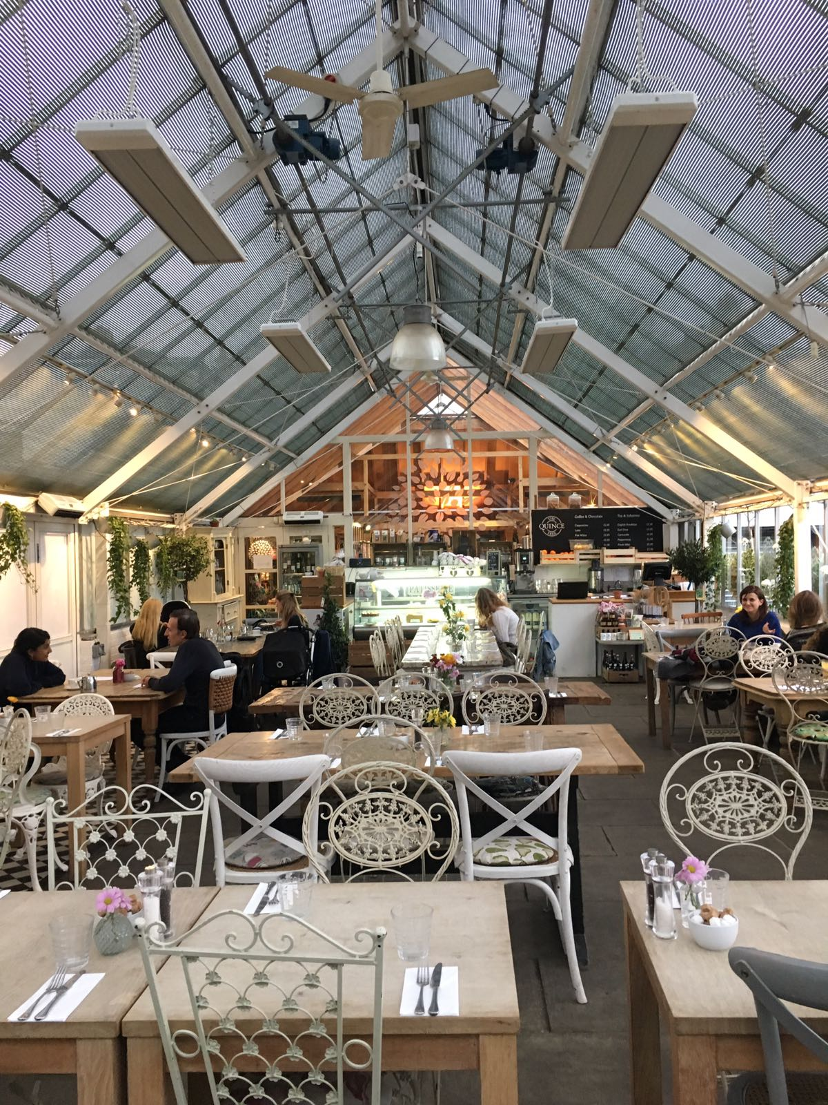 The Quince Tree Cafe, Clifton Nurseries, London