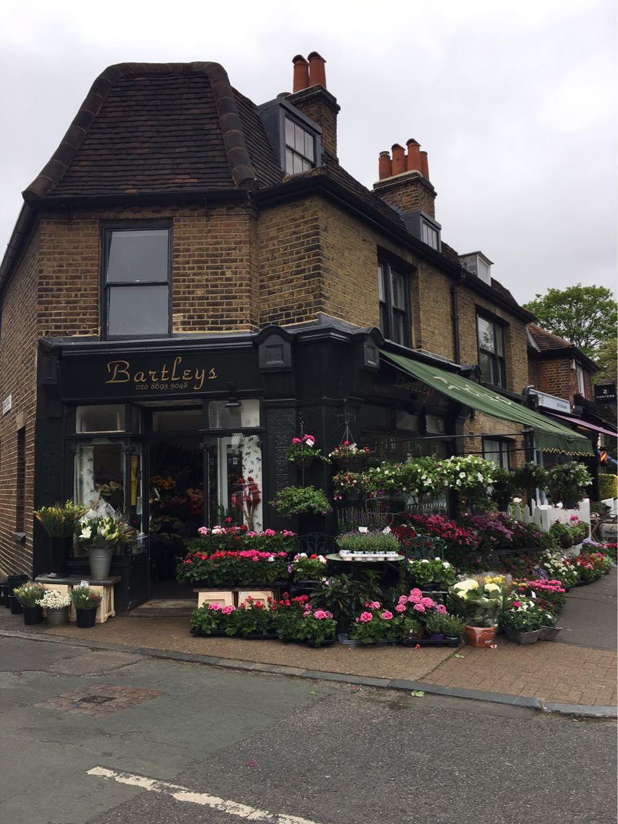 Dulwich High Street, Dulwich village, London