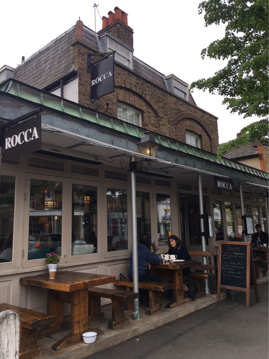 Rocca, restaurant, Dulwich Village, London