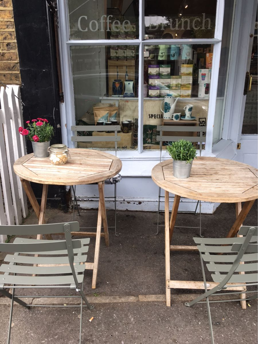 Romeo Jones, café, Dulwich Village, London