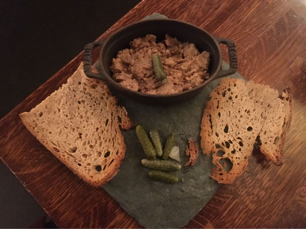 Duck rillettes, Comptoir Gascon, London