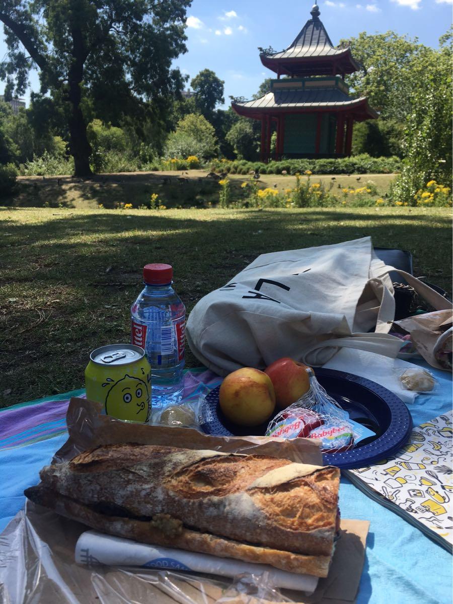 Picnic spot, Victoria Park